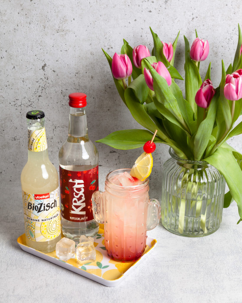 KRSCH, Bio, Kirschlikör, Auwald Destille, Auwald Bar, Lemon Tree, Cocktail, Rezept